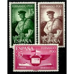 Fernando Poo. 1962. Serie Completa. Día del Sello