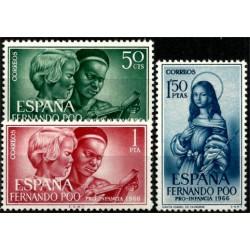 Fernando Poo. 1966. Serie Completa. Pro Infancia