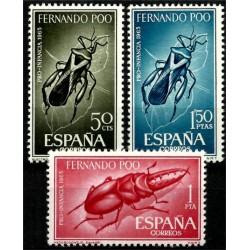 Fernando Poo. 1965. Serie Completa. Pro Infancia
