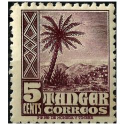 Protectorado de Marruecos (Tanger). 1948-51. 5 Céntimos (Nuevo)