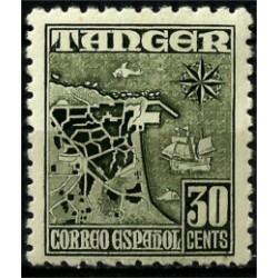 Protectorado de Marruecos (Tanger). 1948-51. 30 Céntimos (Nuevo)