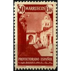 Protectorado de Marruecos. 1940. 50 Céntimos. Alcazarquivir (Nuevo)