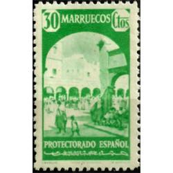 Protectorado de Marruecos. 1940. 30 Céntimos. Larache (Nuevo)