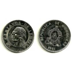 (84.1a) Honduras. 1991. 50 Centavos (SC)