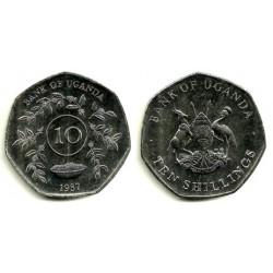 (30) Uganda. 1987. 10 Shillings (SC)