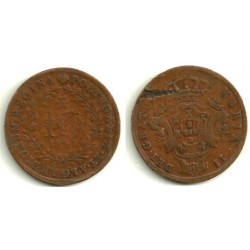 (11) Azores. 1843. 10 Reis (BC)