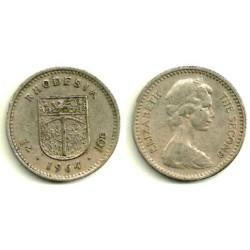 (2) Rhodesia. 1964. 10 Cents (MBC)
