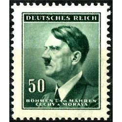 (65) Bohemia y Moravia. 1942. 50 Harelu (Nuevo)
