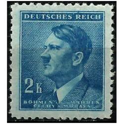 (72) Bohemia y Moravia (Ocupación Alemana). 1942. 2 Koruna (Nuevo)