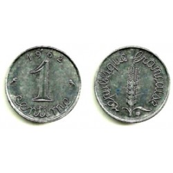 (928) Francia. 1962. 1 Centime (EBC+)