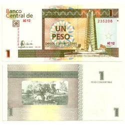 (FX46) Cuba. 2007. 1 Peso (SC)