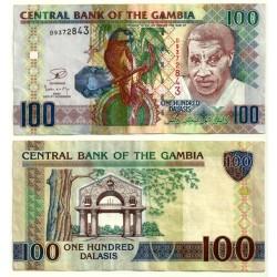 (29b) Gambia. 2006-13. 100 Dalasis (MBC+)