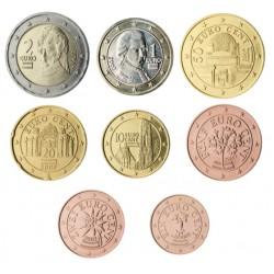 Austria 2002 Serie Completa (8 Valores) (SC)