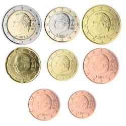 Bélgica 2008 Serie Completa (8 Valores) (SC)