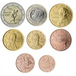 Grecia 2004 Serie Completa (8 Valores) (SC)