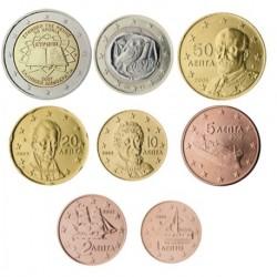 Grecia 2007 Serie Completa (8 Valores) (SC)