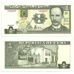 (125) Cuba. 2003. 1 Peso (SC)