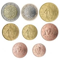 Francia 2002 Serie Completa (8 Valores) (SC)