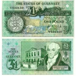 (52c) Guernsey. 1991. 1 Pound (SC)