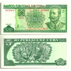 (116j) Cuba. 2007. 5 Pesos (SC)