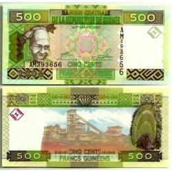 (39a) Guinea. 2006. 500 Francs (SC)