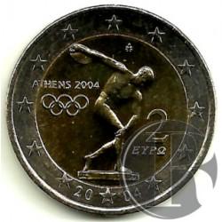 Grecia 2004 2 Euro (SC)