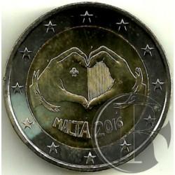 Malta 2016 2 Euro (SC)