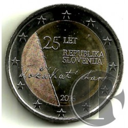 Eslovenia. 2016. 2 Euro (SC)