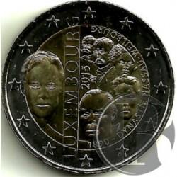 Luxemburgo 2015 2 Euro (SC)
