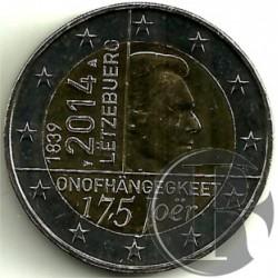 Luxemburgo 2014 2 Euro (SC)