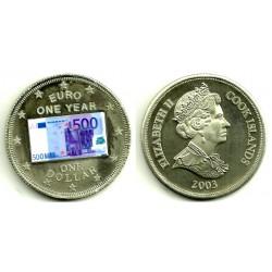 Islas Cook. 2003. 1 Dollar (SC)