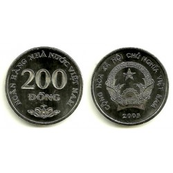 Viet Nam. 2003. 200 Dong (SC)
