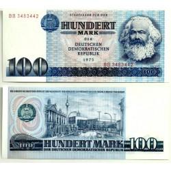 (31a) Alemania Democrática. 1975. 100 Mark (SC)