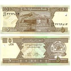 (66) Afganistán. 2002. 5 Afghanis (SC)