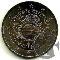 Austria 2012 2 Euro (SC)