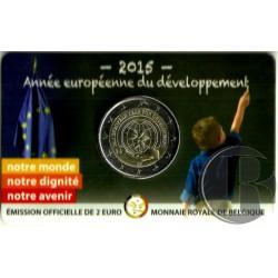 Belgica 2015 2 Euro (SC)