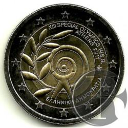 Grecia 2011 2 Euro (SC)