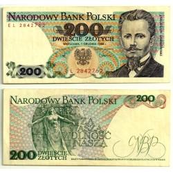 (144c) Polonia. 1988. 200 Zlotych (EBC+)