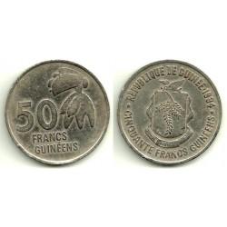 (63) República de Guinea. 1994. 50 Francs (MBC)