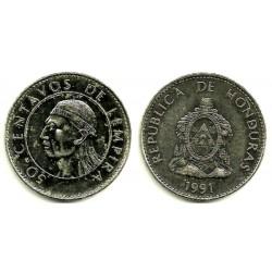 (84.1a) Honduras. 1991. 50 Centavos (EBC)