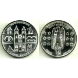 Alemania. 2005(A). 10 Euro (SC) (Plata)