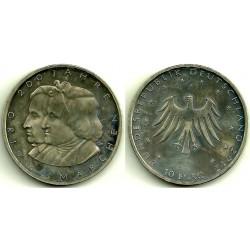 Alemania. 2012(F). 10 Euro (SC)