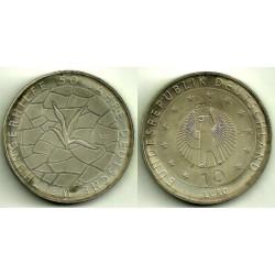 Alemania. 2012(G). 10 Euro (SC)
