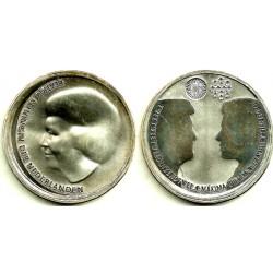 Países Bajos. 2002. 10 Euro (SC) (Plata)