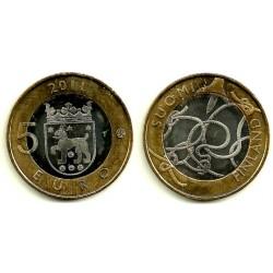 Finlandia. 2011. 5 Euro (SC)