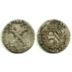 (13) Países Bajos Austríacos. 1750. 20 Liards (MBC-)