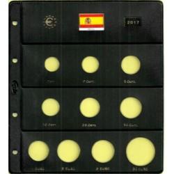 Hoja para Euros 10 Alojamientos (España-2017)