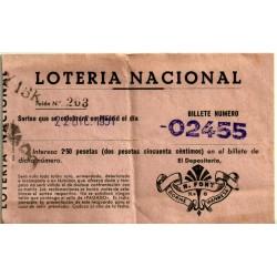 Participación. 22 de Diciembre de 1951