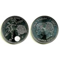 España 2010 20 Euro (SC) (Plata)