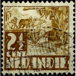 (166) Indias Holandesas. 1933-37. 2½ Cents (Usado)